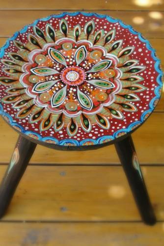 "Scaun traditional romanesc ""Petals"""