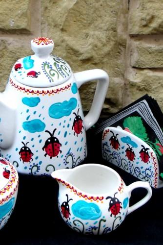 """Set pentru ceai """"Lots of Ladybugs"""""""