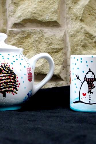"""Set pentru ceai """"Let it snow!"""""""