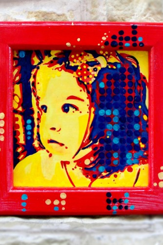 "Pop Art Portrait ""Sofia"""