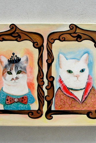 Chic and Fashionable Cats