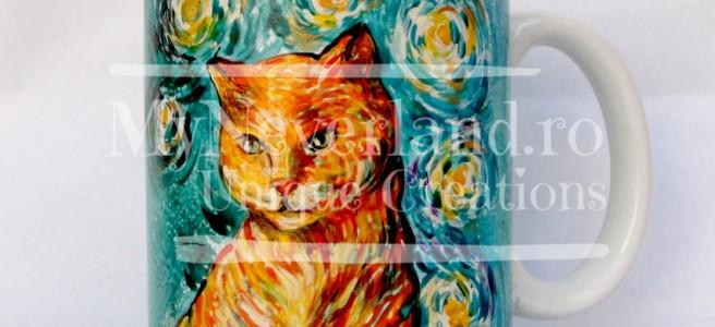 """Cana """"Van Gogh Cat"""""""